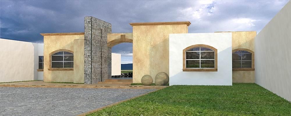 Descarga gratis modelado de fachada tradicional mexicana for Fachada tradicional