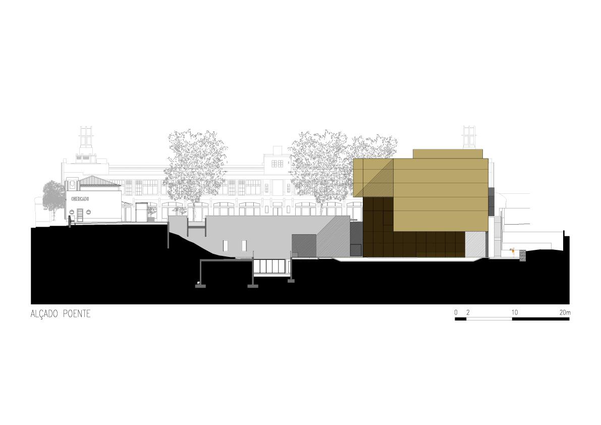 Planos de Plataforma de las Artes y la Creatividad - Pitágoras Arquitectos