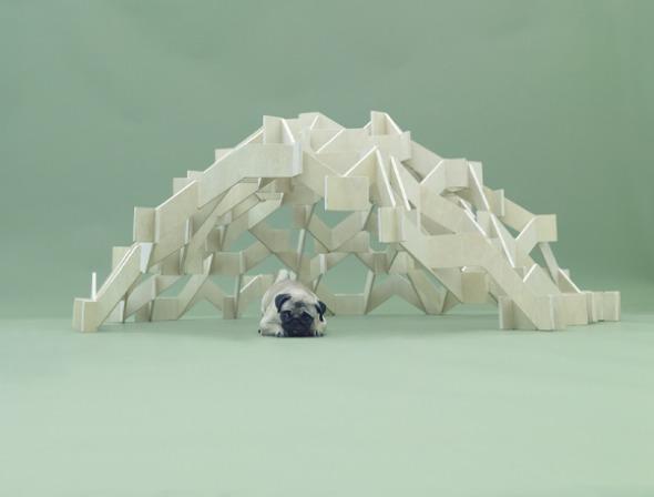 Casa para perros de Kengo Kuma