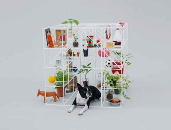 Casa para perros Sou Fujimoto