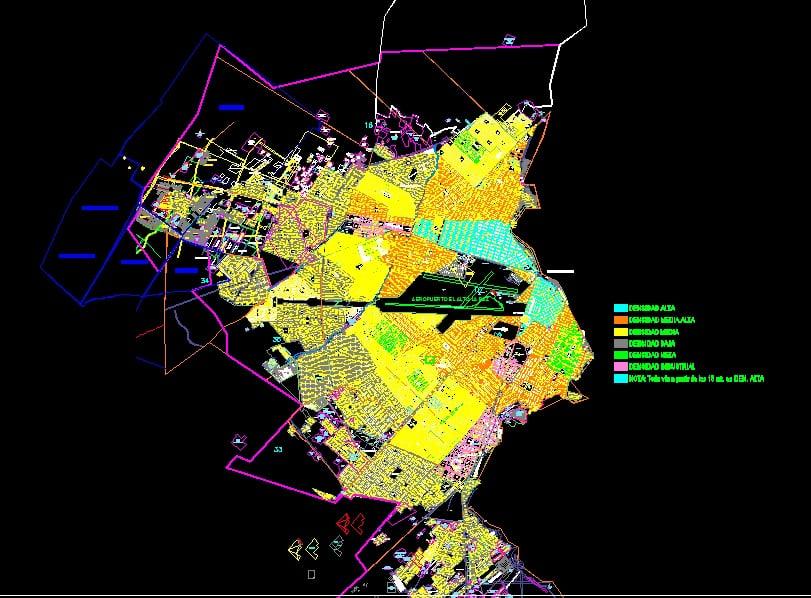 Plano Ciudad Del El Alto