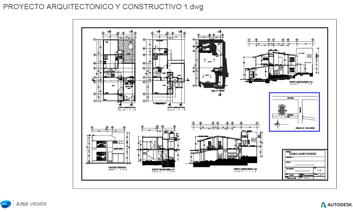 Proyecto Arquitectonico Y Constructivo