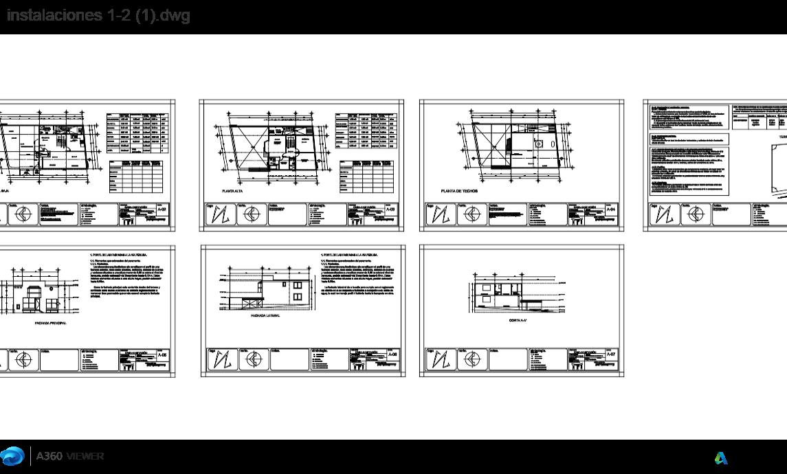 Casa- habitación terreno e instalaciones