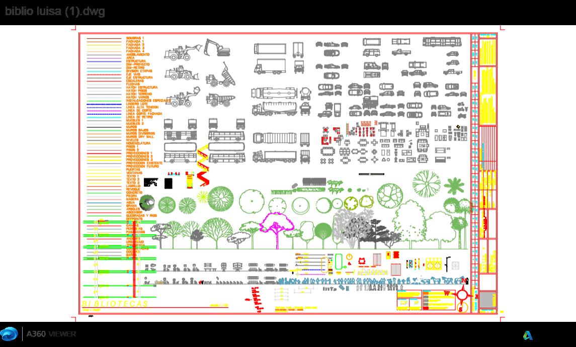Colecci N Descarga Gratis De Planos Archivos Y Bloques Sobre  # Muebles Gimnasio Dwg