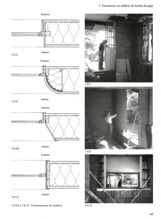 Manual de construcción con fardos de paja – Gernot Minke y Friedema