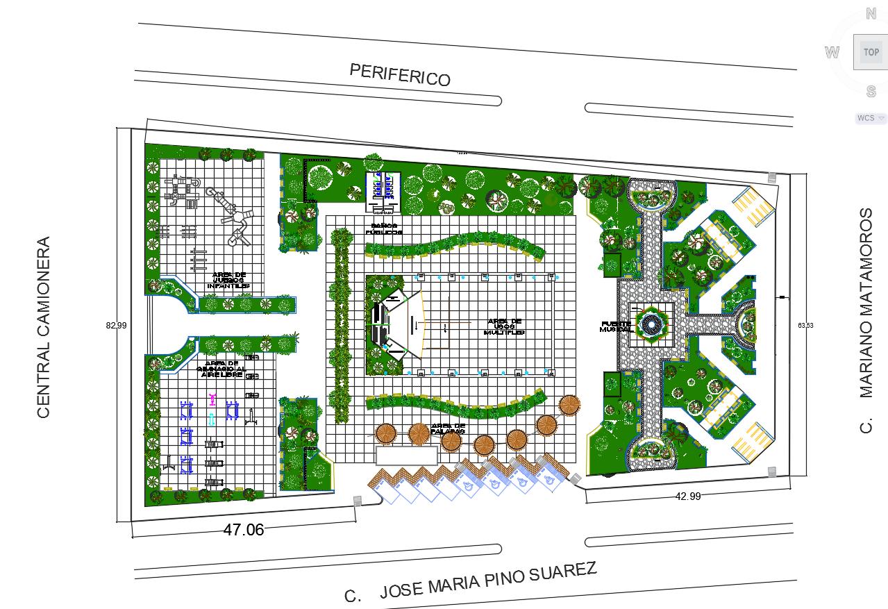 planos de parques y jardines descarga gratis de planos