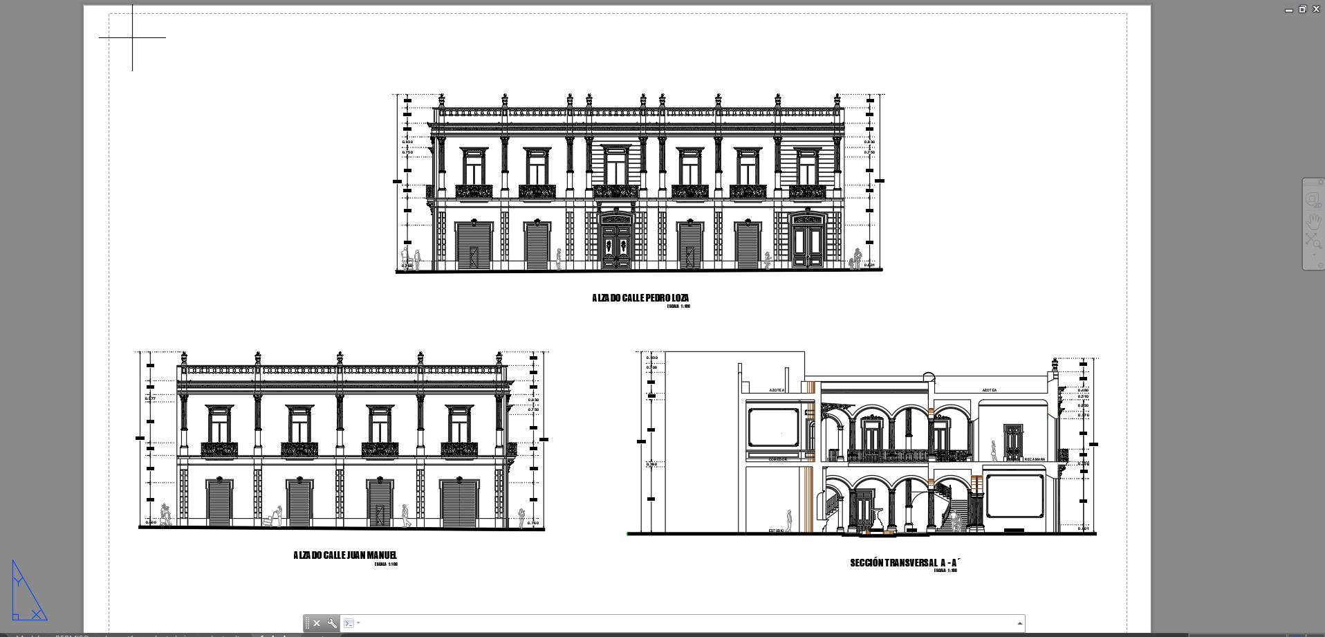 Descarga gratis hotel galeria archivos y documentos en for Planos de arquitectura pdf