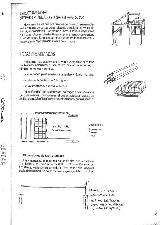 Apuntes De Obra 1 -construcciones Para Arquitectos