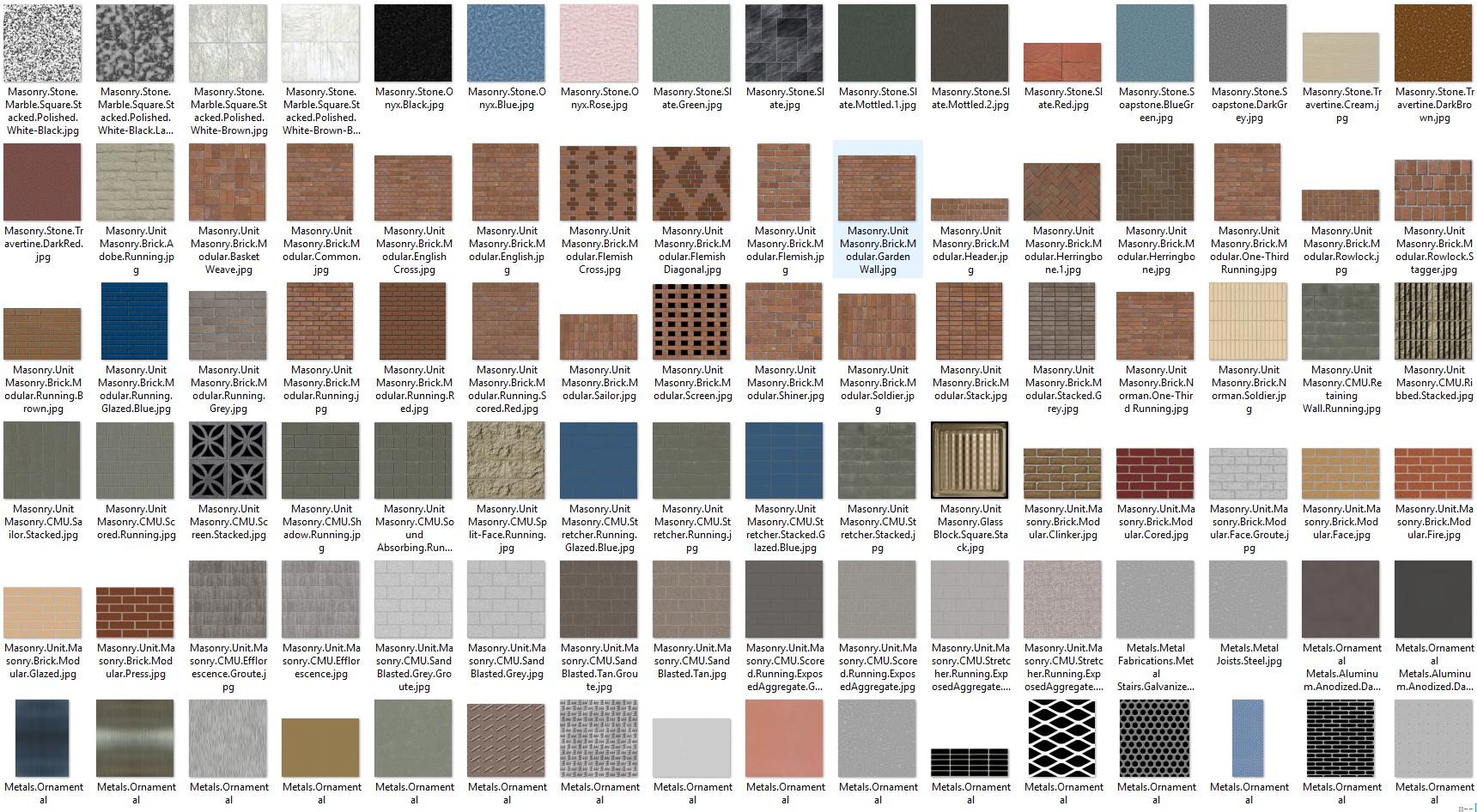 texturas para para arquitectura