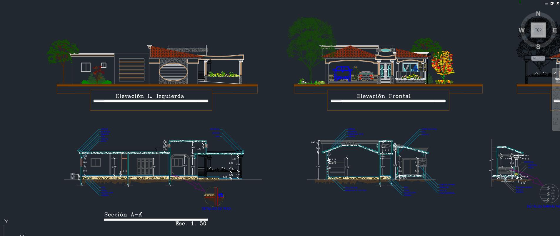 fotos de fachadas de casas sencillas en venezuela Casas De 200 M2 O Ms Descarga GRATIS De Planos