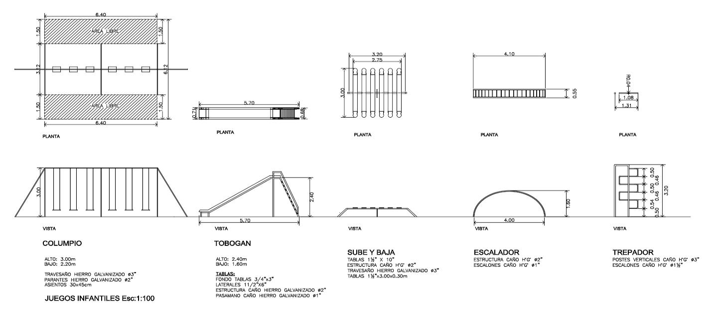 Descarga GRATIS  juegos infantiles - planos y bloques en AutoCAD ... 3bd1fd4c64f8f