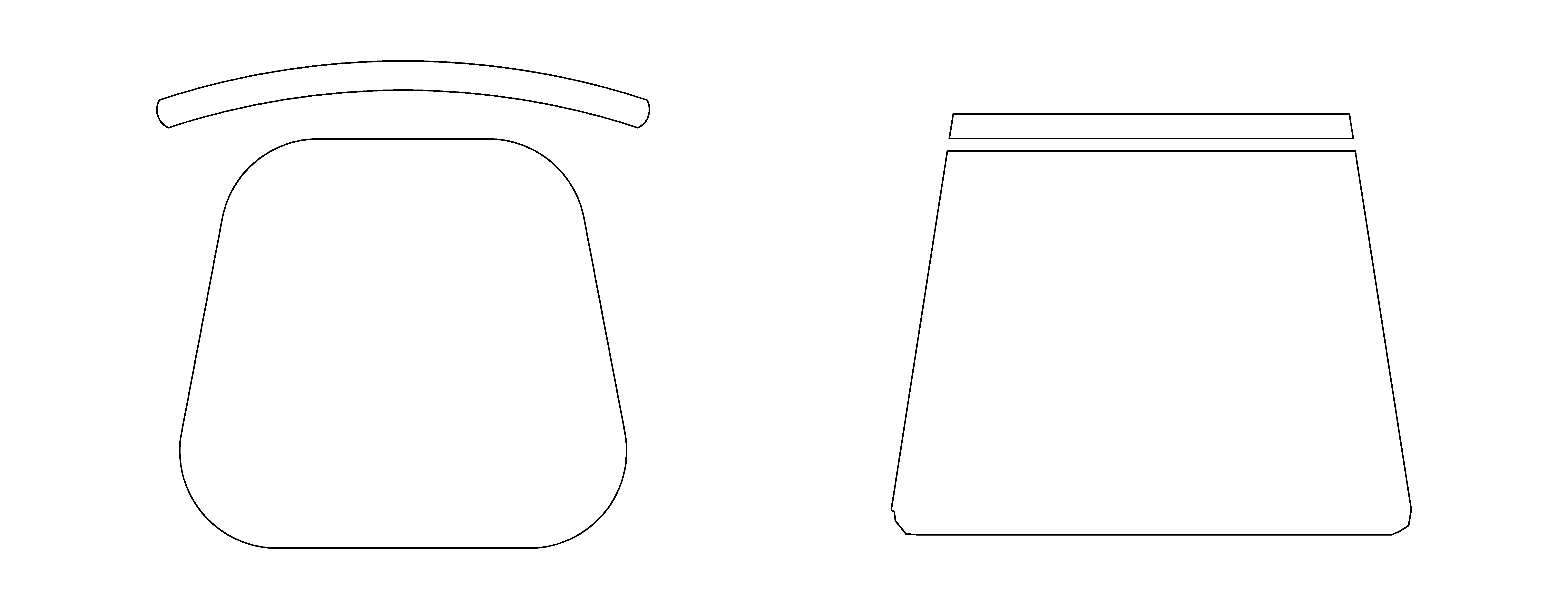 bloque de silla para autocad