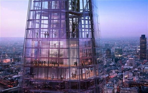 Se inaugura de la torre más alta de Europa