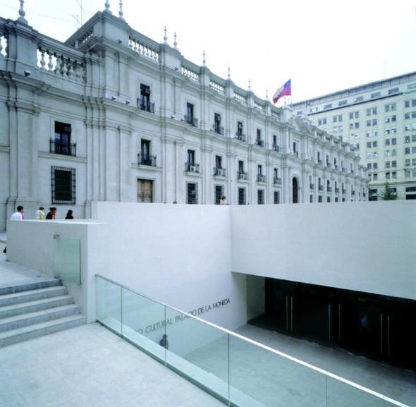 Centro cultural bajo el Palacio de Gobierno