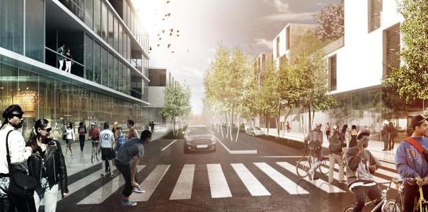 Los suburbios del futuro en Copenhague