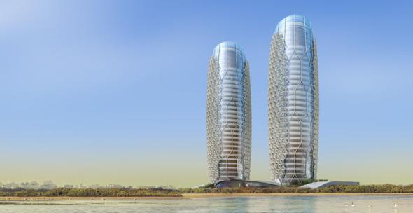 Moderno sistema en fachadas que reduce la temperatura interior