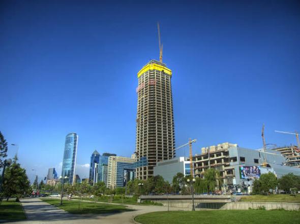 El nacimiento de un rascacielos