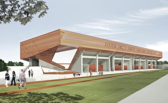 Moderno estadio se construirá este año en Calama