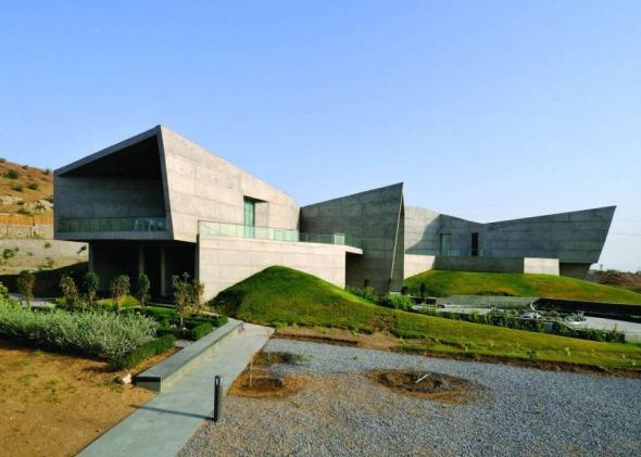 Casa diseñada en respuesta al clima