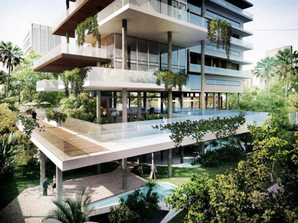 Edificio residencial premiado