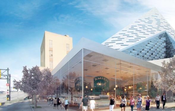 El edificio pirámide de BIG: W57 es finalmente aprobado