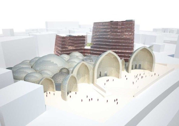Iiarquitectos tradicional arquitectura isl mica contempor nea for Arquitectura islamica