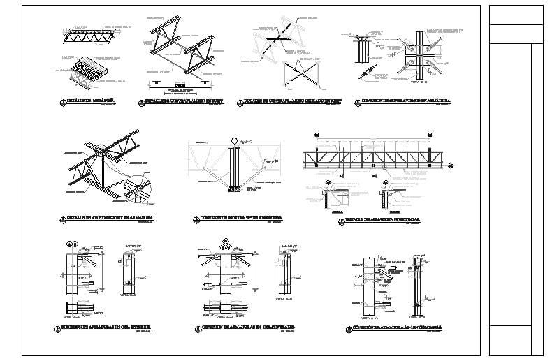 Edif- Industrial-detalles Estructura