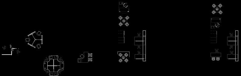 Diseños en planta oficina