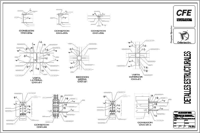 conexiones estructurales de acero