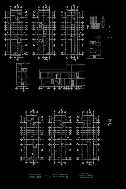 casa habitación 4x15 mts