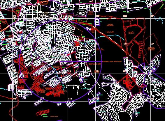 plano oficial de nomenclaturas de la ciudad de Morelia