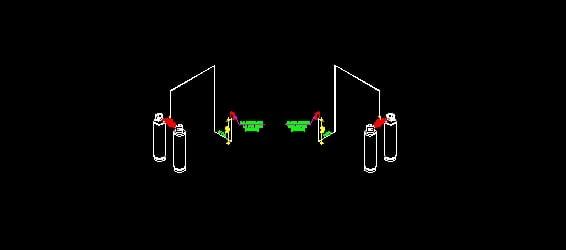 Isometrico de gas