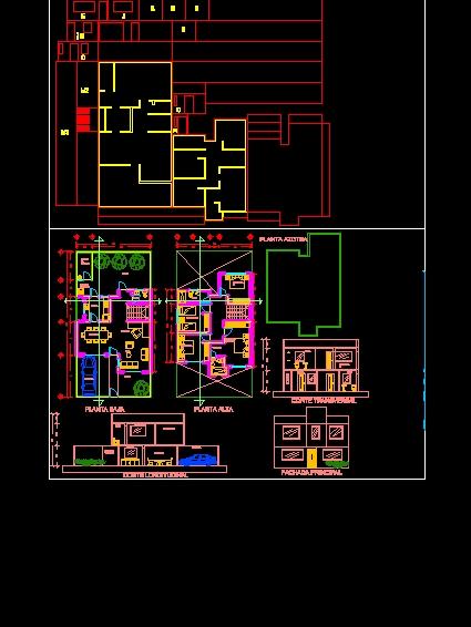 casa habitación dos niveles