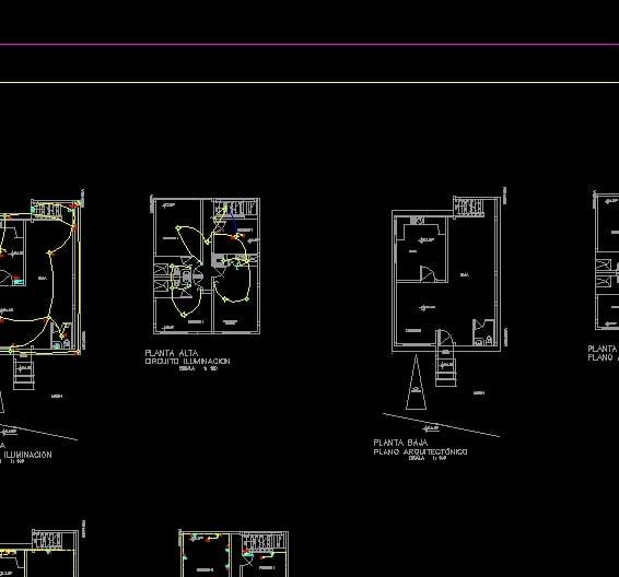 Planos Electricos Residenciales
