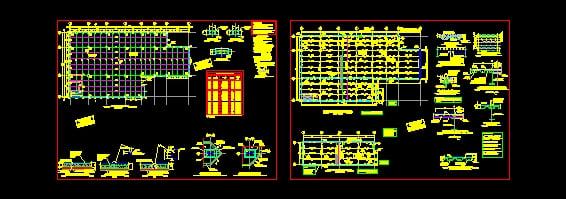 Descarga gratis proyecto estructural local comercial planos y bloques en autocad sobre - Proyecto local comercial ...