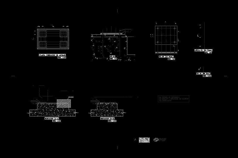 plano mecánico de un blower (soplador) industrial