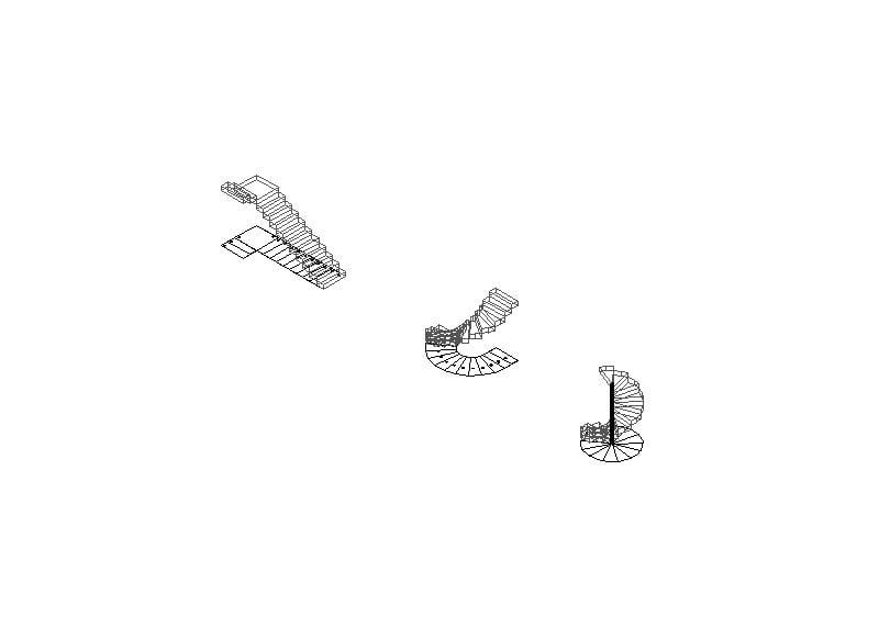 Escaleras 3D