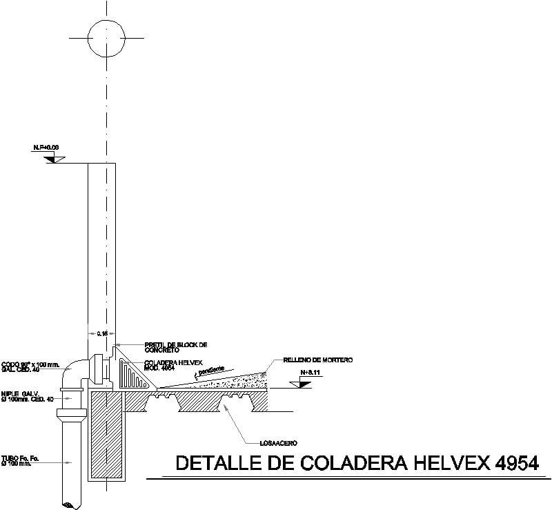 coladera helvex 4950