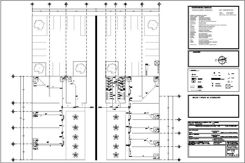 Plano Instalaciones Hidro sanitarias