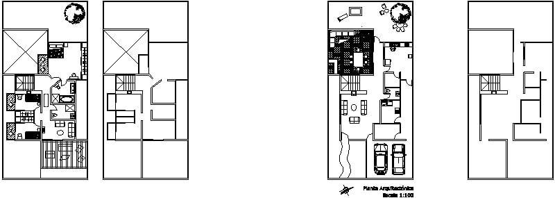 Casa dos niveles