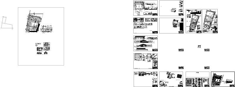 plano arquitectura gimnasio