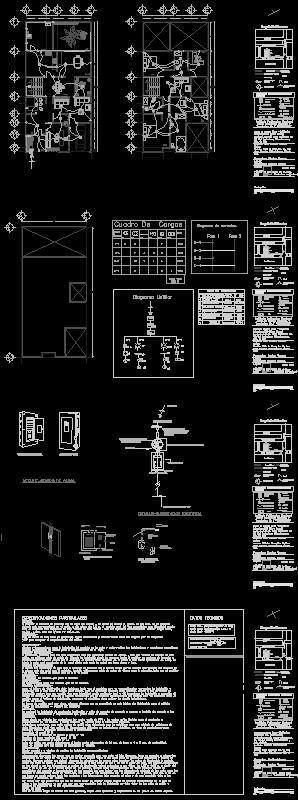 Plano instalación eléctrica