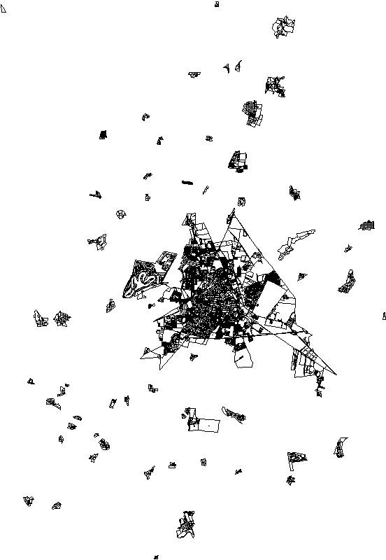 traza urbana de irapuato, gto