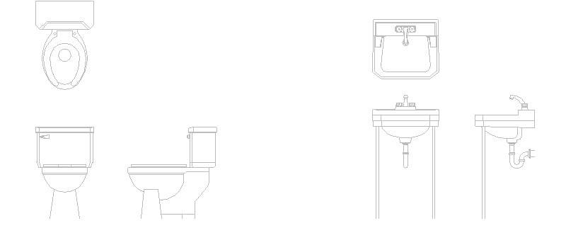 Muebles de baño Alzados