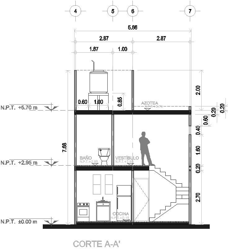 Corte Arquitectónico
