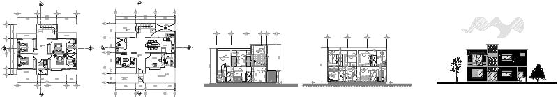 diseño de casa de 12 por 12