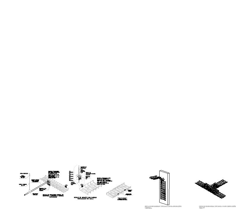 Detalles de colocación de cablofil