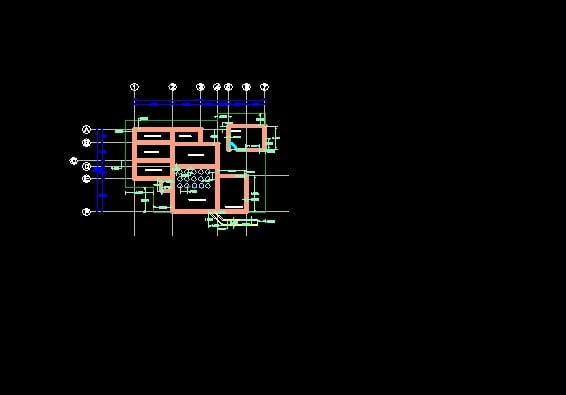 Plano Arquitectónico de Planta de Tratamiento