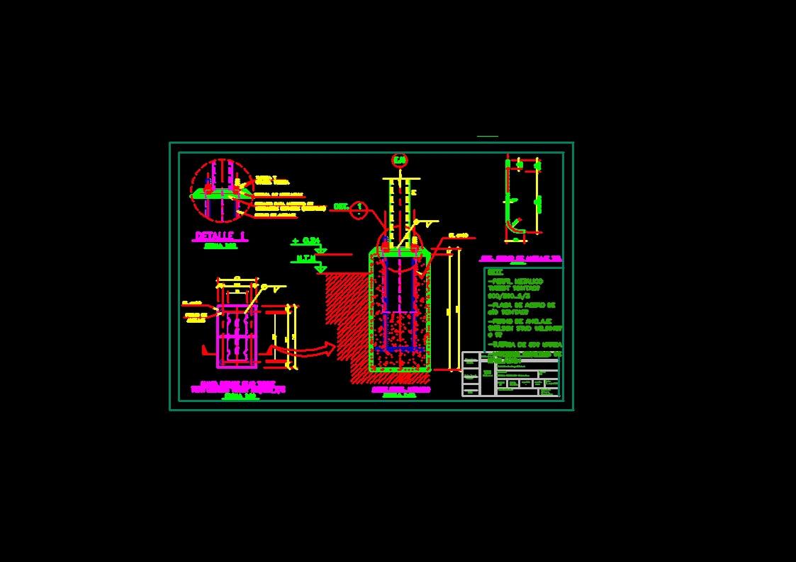 Detalle Pilar tubest