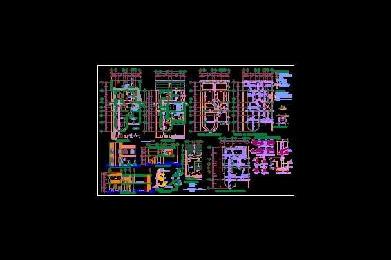 Descarga gratis casa planos y bloques en autocad sobre for Software planos arquitectonicos